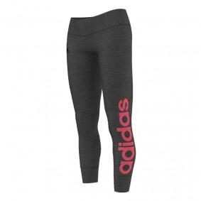 Fitnesskleding Dames - kopen - adidas Ess Linear tight dames antraciet/roze