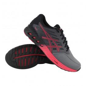 Fitness schoenen - Sportschoenen en Accessoires - kopen - Asics fuzeX hardloopschoenen dames antraciet/roze