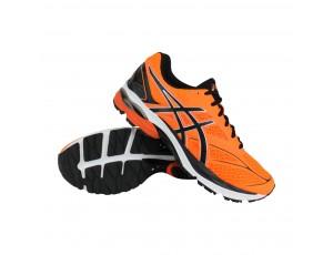 Fitness schoenen - Sportschoenen en Accessoires - kopen - Asics Gel-Pulse 8 hardloopschoenen heren oranje/zwart/wit