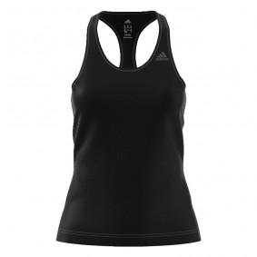 Fitnesskleding Dames - kopen - adidas D2M Solid tank top dames zwart