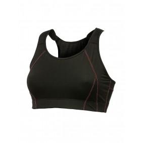 Dames Sport BH's - Fitnesskleding Dames - kopen - Craft Support sport bh B-cup dames zwart