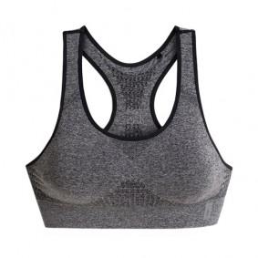 Dames Sport BH's - Fitnesskleding Dames - kopen - Esprit Seamless sportbh dames grijs/zwart