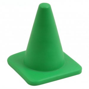 Brede Super Soft Kegel - 10 cm groen kopen