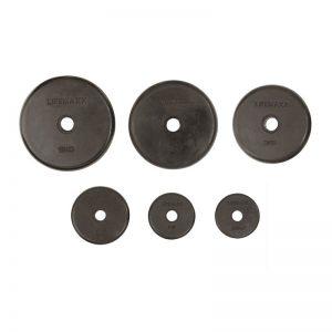 Disc Rubber Coated 0.5 - 15 kg - 20 kg kopen