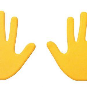 Hand Vloermarkering geel kopen