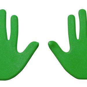 Hand Vloermarkering groen kopen
