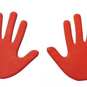 Hand Vloermarkering rood kopen